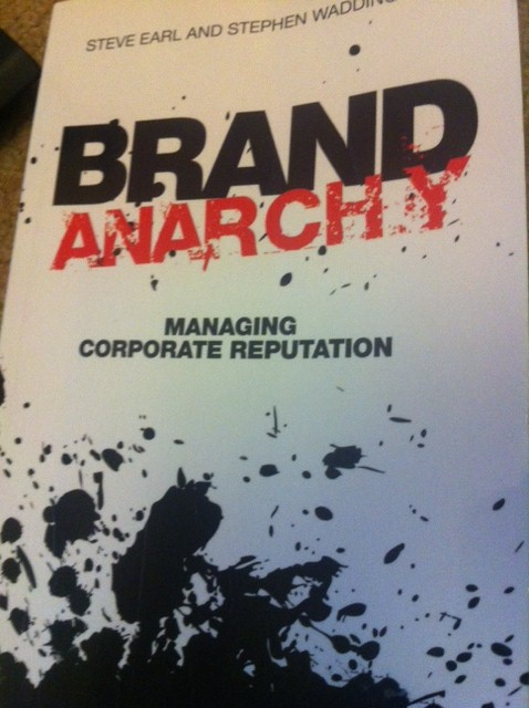 Book review: Brand Anarchy by Steve Earl and Stephen Waddington